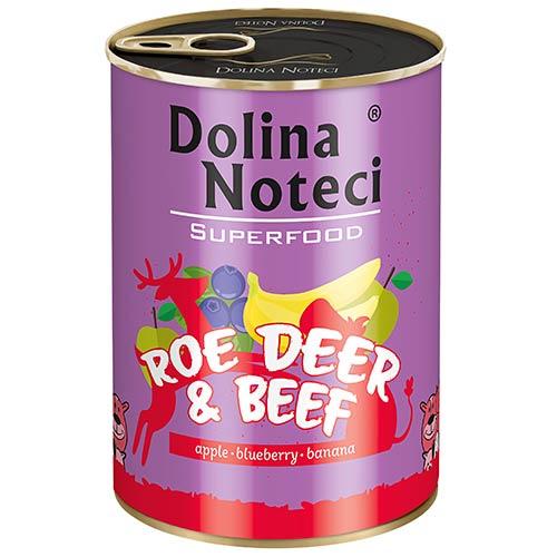 Dolina Noteci Superfood s srno in govedino