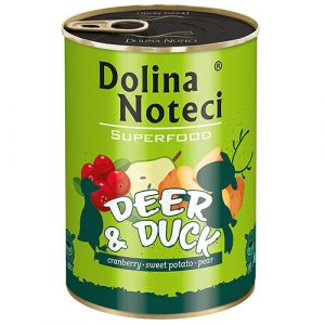 Dolina Noteci Superfood z jelenom in raco