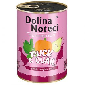 Dolina Noteci Superfood z raco in prepelico