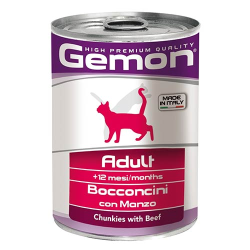 Gemon z govedino za odrasle mačke