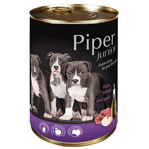 Piper Junior teletino in jabolkom