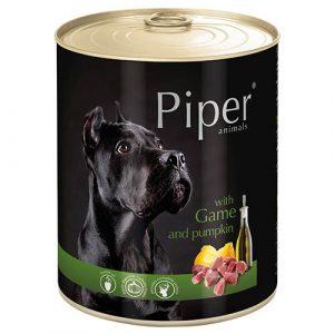 Piper divjačino in bučo
