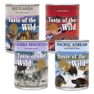 Taste of the Wild konzerve za pse