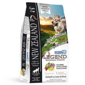 Forza10 Nutraceutic Legend z jagnjetino in divjačino za odrasle pse