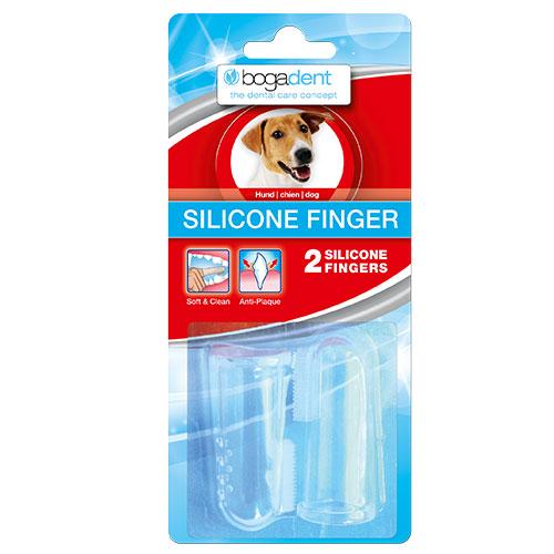 Bogadent silikonski naprstnik za čiščenje pasjih zob