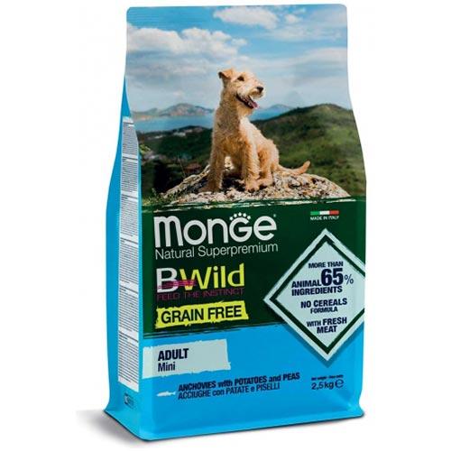 Monge BeWild mini inčun za odrasle pse manjših pasem