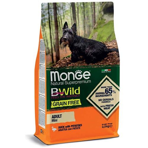 Monge BeWild mini z raco za odrasle pse manjših pasem