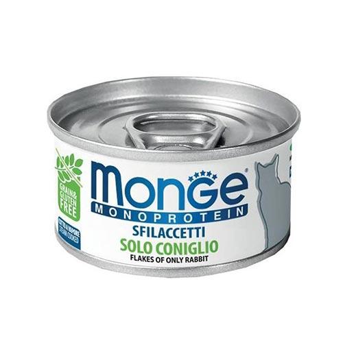 Monge MONOPROTEINSKA mokra hrana s kuncem za mačke