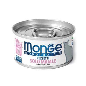 Monge MONOPROTEINSKA mokra hrana s svinjino za mačke