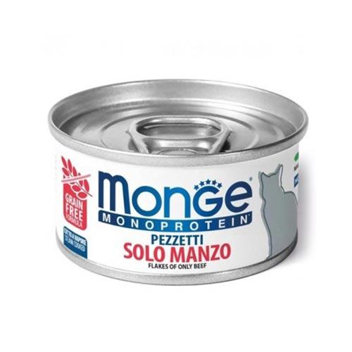 Monge MONOPROTEINSKA mokra hrana z govedino za mačke