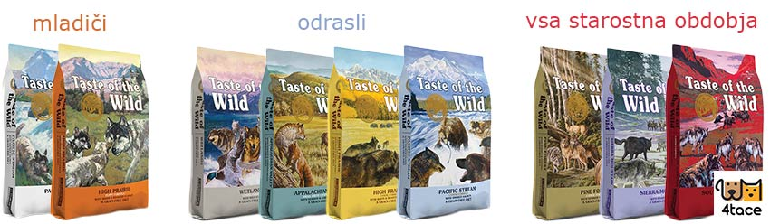 taste of the wild hrana za pse