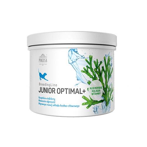 Naravni prehranski dodatek za pasje mladiče z morskimi algami