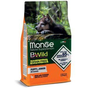 Monge BeWild z raco za mladiče vseh pasem