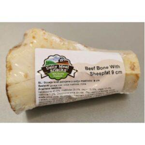 Goveja kost polnjena z ovčjo maščobo
