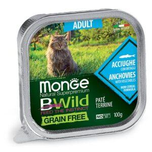 Monge BWild Pate z inčuni in zelenjavo